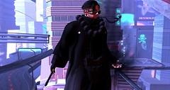 The Black (【 к υ s α η α g ι /// 草薙】) Tags: rp slrp roleplay secondlife ccrp cocoon scifi cyberpunk underground kakusaretaakuma hiddendemons syndicate criminal izanagi kusanagihanzo