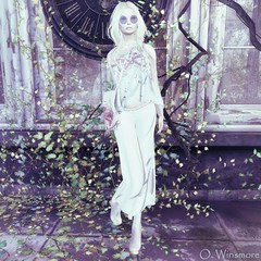 Siss Boom : Shabby Girl – Pants, Top & Bag (Ombrebleue Winsmore) Tags: sissboom pants top shabby chic fashion couture bag