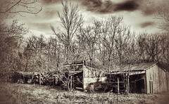 ghost town... (BillsExplorations) Tags: ghosttown abandoned abandonedillinois old forgotten ruins decay ruraldecay wildwest touristattraction town monochromemonday sepia