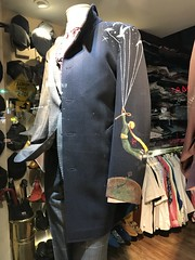 Take me with you... (moderndancer42) Tags: handpainted display window shop menswear jacket thelittleprince