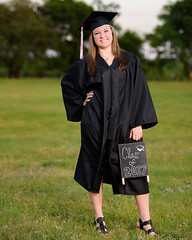 2017_04-Amanda-Grad 2210 (Jeremy Herring) Tags: cap girl gown graduate graduation individuals outdoor photography photos portrait schreineruniversity woman