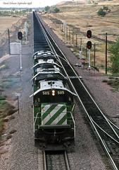 Black Diamonds (Missabe Road) Tags: bn 5115 c307 edgemont coal bnsf