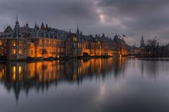 Binnenhof at Night (Rob Kints (Robk1964)) Tags: denhaag binnenhof hofvijver innercourt nederland night pond reflections thehague thenetherlands