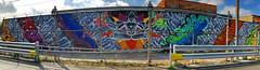 "Vinyasa by Tubz (wiredforlego) Tags: ""tubszilla"" graffiti mural streetart urbanart aerosolart publicart chicago illinois ord"