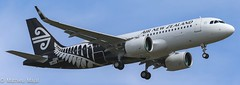 Airbus A320-200Neo / Air New Zealand (matdu20eme) Tags: toulouse airport flying fly travelling travel pilot airnewzealand airbusa320 a320 airbus aviation avion airliner airline aircraft airplane