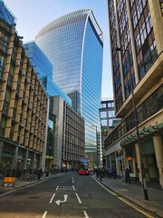 Fenchurch Street and the Walkie Talkie building (35mmMan) Tags: walkietalkie buildings architecture london squaremile cityoflondon urban huaweip20pro cameraphone androidography sky garden fenchurch street 20 square mile city