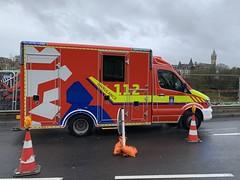 Mercedes Benz Sprinter Ambulance - Luxembourg City, Luxembourg. (firehouse.ie) Tags: cgdis cg1125 luxembourgcity vehicules vehicule vehicles vehicle ambulanza krankenwagen bluesandtwos emergency luxembourg ambulances ambulance mercedessprinter mercedesbenz mercedes