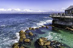 Monterey Bay Aquarium (Explored) (punahou77) Tags: monterey montereybay montereybayaquarium aquarium seascape stevejordan sky punahou77 pacificocean landscape water waves tidepool roadtrip california clouds nature nikond500 nikon