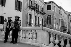 Venice (Chiaro Chiari) Tags: venezia venice italy italia monocromo veneto gondolieri gondola italians bw bn people portrait ritratto art history arte storia tourism turismo culture cultura houses case canali channels calli beauty