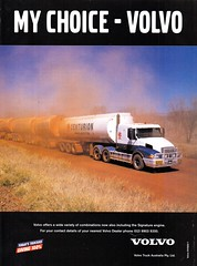 2000 Volvo Truck Aussie Original Magazine Advertisement (Darren Marlow) Tags: 2 20 00 2000 v volvo t truck s semi r rig road train c cool collectible collectors a automobile vehicle swiss sweden swedish e european europe 00s