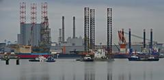 BONGA & BOABARGE 34 (kees torn) Tags: bonga maerskresilient offshore tug fairplay multraship multratug5 multratug4 multratug17 aeolus vanoord maasvlakte2