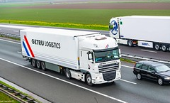 Truck Spotting on the A29 @ The Shell Services Numansdorp, Direction Bergen Op Zoom Holland 02/04/2019.