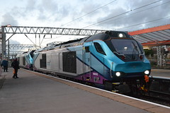 Direct Rail Services 68022 & 68032 (Will Swain) Tags: crewe station 21st september 2018 cheshire north west south county train trains rail railway railways transport travel uk britain vehicle vehicles england english europe direct services 68022 68032 class 68 032 22