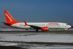 C-FYXC (Sunwing Airlines) (Steelhead 2010) Tags: sunwingairlines boeing b737 b737max8 yyz creg cfyxc