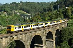CP 592 | Ribadouro (Fábio-Pires) Tags: portugal cp 592 cp592 ribadouro camello macosa diesel tracçãodiesel railcar cpregional automotora douro linhadodouro