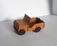 Jeep Willys M38 (orig4mi.) Tags: origami jeep paperfolding