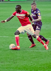 Famara Diedhiou No 9 Bristol. City outsmarts No 23 LeedsKALVIN PHILLIPS jpg (mittu12) Tags: famara diedhiouno 9 bristol city outsmarts no 23 leedskalvin phillips jpg
