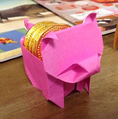 pig box (maplecrane) Tags: origami pig box