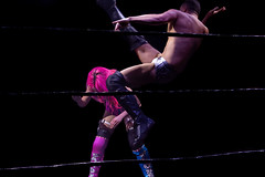 Wrestling - Ripetide: Deep Six (TK Cooper vs Candy Floss) (Yours Sinclairly) Tags: wrestling riptide brighton