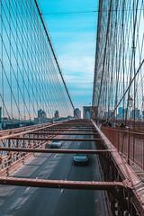 Brooklyn Bridge - NYC (LeonCamilleri) Tags: usa us united states america brooklyn bridge nyc new york city concrete jungle empire state building rockefeller centre