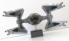 Lego Tie Interceptor (SEC - Jerac) (Rubblemaker) Tags: starwars star wars tie interceptor empire brickvault jerac lego toy toys building blocks
