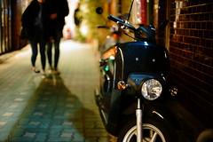 2018/1847 (june1777) Tags: snap street seoul night light bokeh sony a7ii canon fd 55mm f12 8000 clear