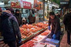 Omicho Market, Kanazawa, Ishikawa, Japan (takasphoto.com) Tags: apsc asia asian chubu chūbu crab crabs fishmarket fuji fujixe3 fujixe3fujifilm fujifilm fujifilmxe3 fujinon fujinonlensxf18135mmf3556rlmoiswr fujinonxf18135mmf3556rlmoiswr hokuriku ishikawa ishikawaprefecture japan japanese japón kagadomain kanazawa kanazawadomain lens market markets mercado mirrorless nodoguro octopus omicho omichoichiba omichoichibamarket omichomarket xe3 xmount xtranscmosiii xtransiii xf18135 एशिया のどぐろ アジア ノドグロ フジノン フジフィルム 中部 中部地方 亜細亜 加賀 加賀百万石 加賀藩 加賀野菜 北信越地方 北陸 北陸地方 城下町 日本 生鮮食品 石川 石川県 能登半島 近江町いちば館 近江町市場 金沢 金沢市