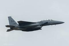 USAF, McDonnell Douglas F-15E Strike Eagle (89-0488/SJ), 4th FW (mattmckie98) Tags: aircraft aviation airforce usaf us raf lakenheath jet fighter f15