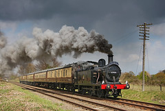 47406 (gareth46233) Tags: 47406 lms jinty gcr great central railway quorn sky clag