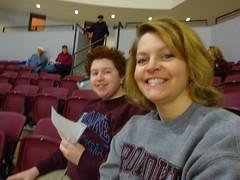 Isaac and Kathy (dougmartin571) Tags: roanokecollege lynchburghornets roanokemaroons maroonsathletics basketball americasgottalent agt zuzuacrobats maroonathletics roanokecollegeathletics