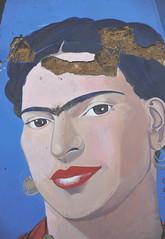 Frida Mural Oaxaca Mexico (Ilhuicamina) Tags: fridakahlo murals portraits art oaxaca mexican streetart frida woman