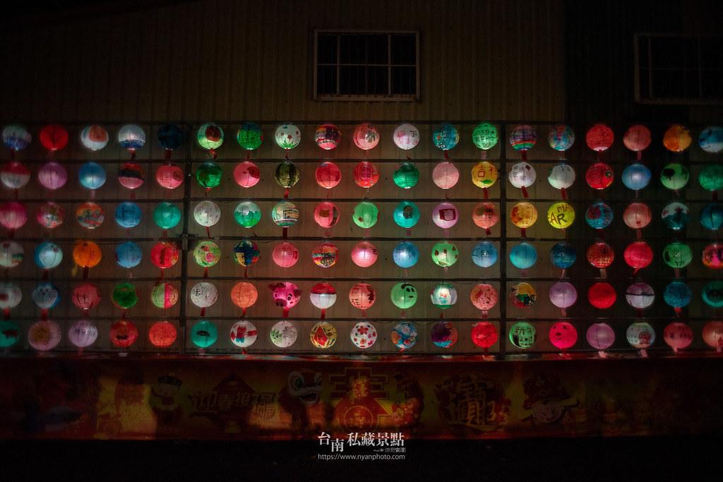 六甲媽祖廟燈會 | 最接地氣的恒安宮花燈-2