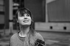 Fab Fiona (Stefan Waldeck) Tags: woman text portrait bw dublin ireland 2018 netzki stefanwaldeck stefan waldeck