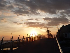 Pont de la Riera (9) (calafellvalo) Tags: pontbritvendrellsalvadorcalafellvalogesunsetcontrallumbisbalmadrigueres bridge puente pont santsalvador rieradelabisbal elvendrell vendrell madrigueres contraluz sunset ocaso calafellvalo febrero