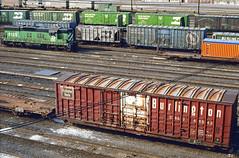 CB&Q Class XML-11 49543 (Chuck Zeiler54) Tags: cbq class xm4c xml11 49543 burlington railroad boxcar box car freight cicero train chuckzeiler chz