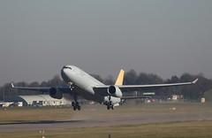 Airbus A330-243MRTT MRTT051/EC-334 (to be RoKAF 19-002), departure CBG (robertetienne) Tags: airbus a330 mrtt cambridgeairport ec334 19002 rokaf aircraft airplanes jets military aviation