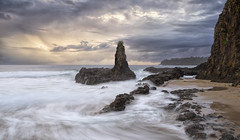 On The Turning Away (Emerald Imaging Photography) Tags: cathedralrocks cathedralrock kiama bombo wollongong sydney shellharbour newsouthwales nsw australia australian australianlandscape seascape sunrise sunset rocks waves cloud clouds storm sand beach