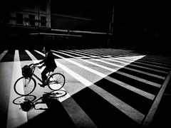 Osaka,Japan (Mark Fearnley Photography) Tags: bnwstreetphotography iphone6 iphone shotoniphone asia bicycle blackandwhite bnw streetphotography osaka japan