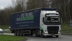 PGS Global Logistics DY64 WZS at Telford (Joshhowells27) Tags: lorry volvo fh volvofh curtainsider pgsgloballogistics dy64wzs
