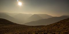 Arnison Crag to Dove Crag. (XPC1217) Tags: contrejour shadows silhouettes canon lakedistrict patterdale arnisoncrag dovecrag sunlight