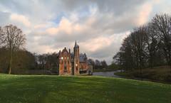 Castle Wissekerke - Bazel - Belgium (roland_tempels) Tags: bazel belgium wissekerke parc nature trees castle water supershot