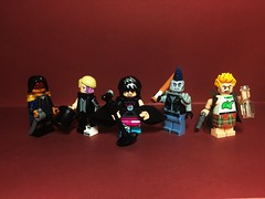 The Extra-Ordinary Gentle Punks (Lord Allo) Tags: lego the league extraordinary gentlemen mina harker murray doctor jekyll mister hyde henry edward captain nemo allan quatermain invisible man griffin