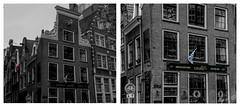 Diptyque Breton made in Hollande (Mawel.P) Tags: eos100d noiretblanc nb bw blackandwhite colorselective couleurselective bretagne breton amsterdam hollande netherland week27