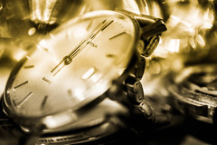 Timepieces (Maria Eklind) Tags: clock watch macro macromondays time timepieces bokeh closeup klocka