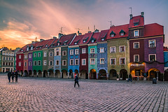 In nature, light creates the color.In the picture, color creates the light. (Vagelis Pikoulas) Tags: poznan poland europe travel tokina 2470mm view landscape city cityscape urban colour colours colors color houses architecture january 2019 winter holidays canon 6d
