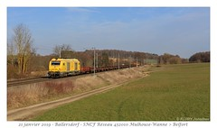 BB 75080 Infra - Ballersdorf (CC72080) Tags: sncf prima bb75000 infra réseau locomotive lokomotive zug güterzug train ballersdorf