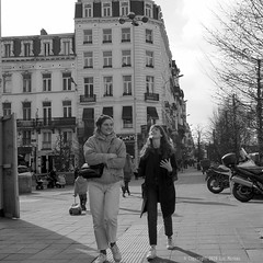 Fontainas (Spotmatix) Tags: 1232mm belgium brussels camera effects lens monochrome omdem10ii olympus places street streetphotography zoomstd