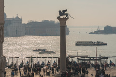 Statue of St Mark, Venice (Gerry Lynch/林奇格里) Tags: outdoor boats canal canaledicannaregio italy mist stmarkssquarevenice statuary vaporetto venice exif:focallength=120mm exif:aperture=ƒ11 exif:isospeed=200 exif:make=nikoncorporation exif:lens=2401200mmf40 exif:model=nikond750 camera:model=nikond750 camera:make=nikoncorporation