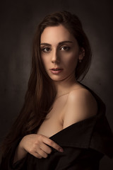 Valeria (luca.onnis) Tags: lucaonnis photography portrait portraiture pictorial beauty beautifullight blackdress