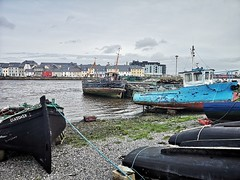 Boats at Claddagh (mcginley2012) Tags: claddagh boats currach galwayhooker ireland